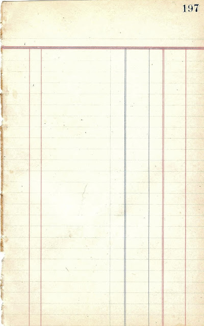 antique graphics wednesday - ledger papers