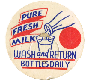 Antique Milk Cap Image