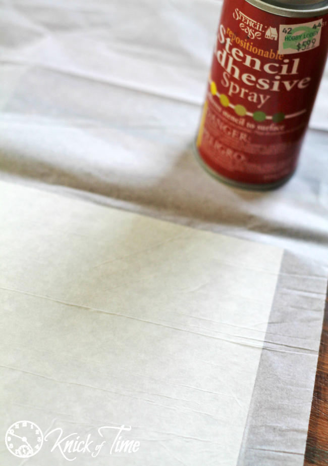 printing on tissue paper for candle
