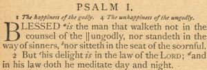 Sonday – {His Delight is in the Law of the Lord & A Teacher's Prayer}