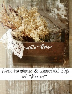 Farmhouse Meets Industrial Wall Bins