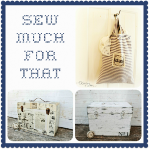 Thursday's Theme – {Sew Much for That}