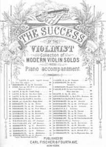 Antique Graphics Wednesday – Sheet Music