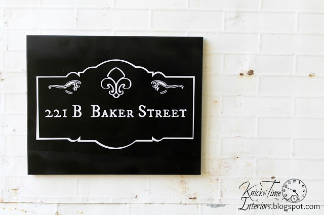 221b Baker Street Sign Knick Of Time