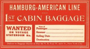 Antique Graphics Wednesday – Vintage Luggage Tags