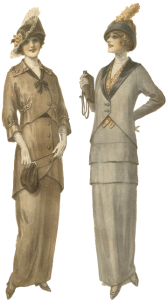 Antique Graphics Wednesday – 1900's Women's Fashion