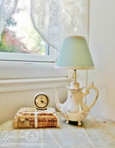 Teapot Lamp Makeover