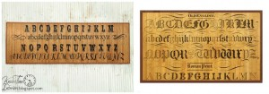 Decor Steals Typography Bamboo Floor Mat Knock-Off