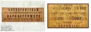Decor Steals Typography Bamboo Floor Mat Knock-Off