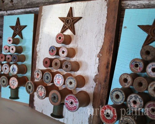 repurposed spools