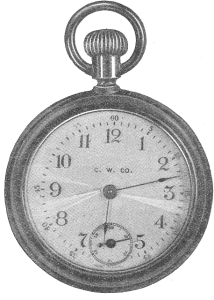 Antique Graphics Wednesday – 2 Pocket Watch Images