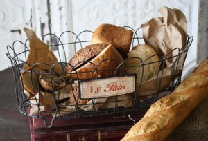 Get the Look Thursday – {Antique Farmhouse Bread Basket}