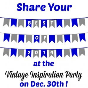 Best of 2014 Vintage Home Decor, Repurposed Projects
