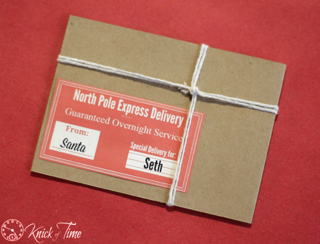 Brown Paper Packages Gift Card Holder