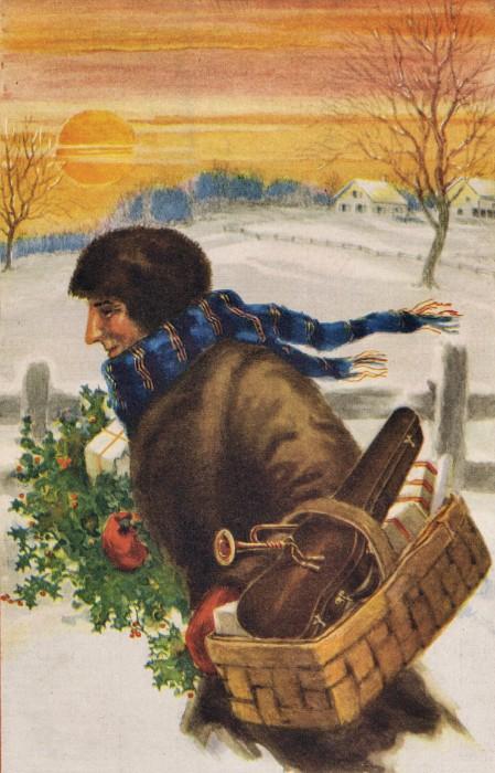 Christmas Printable Magazine Cover 1924