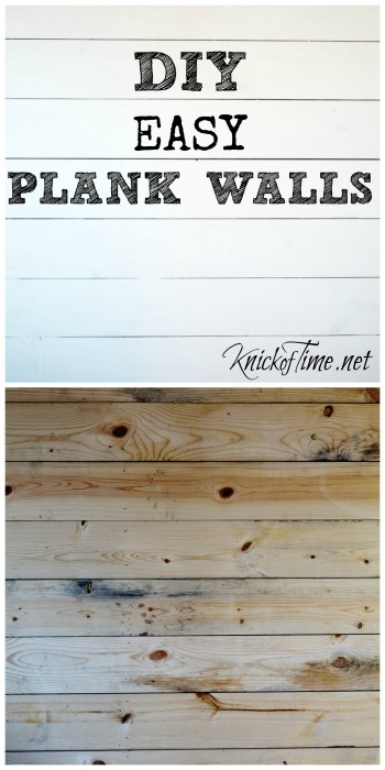 Easy Plank Walls