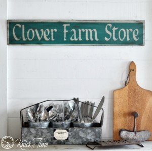 Farm Store Painted Sign