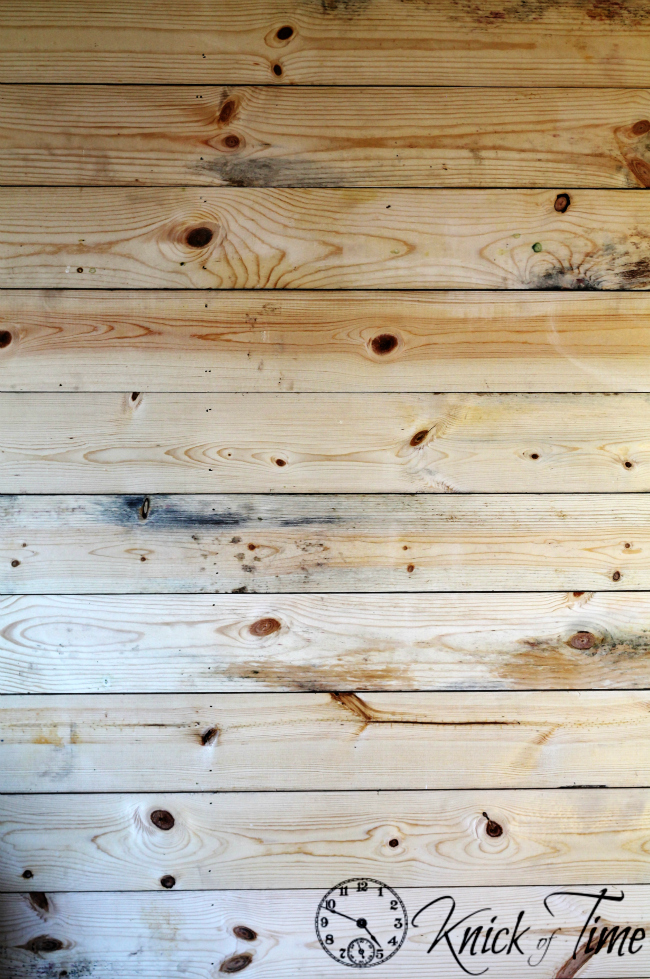 How to install a Plank Wall via KnickofTime.net