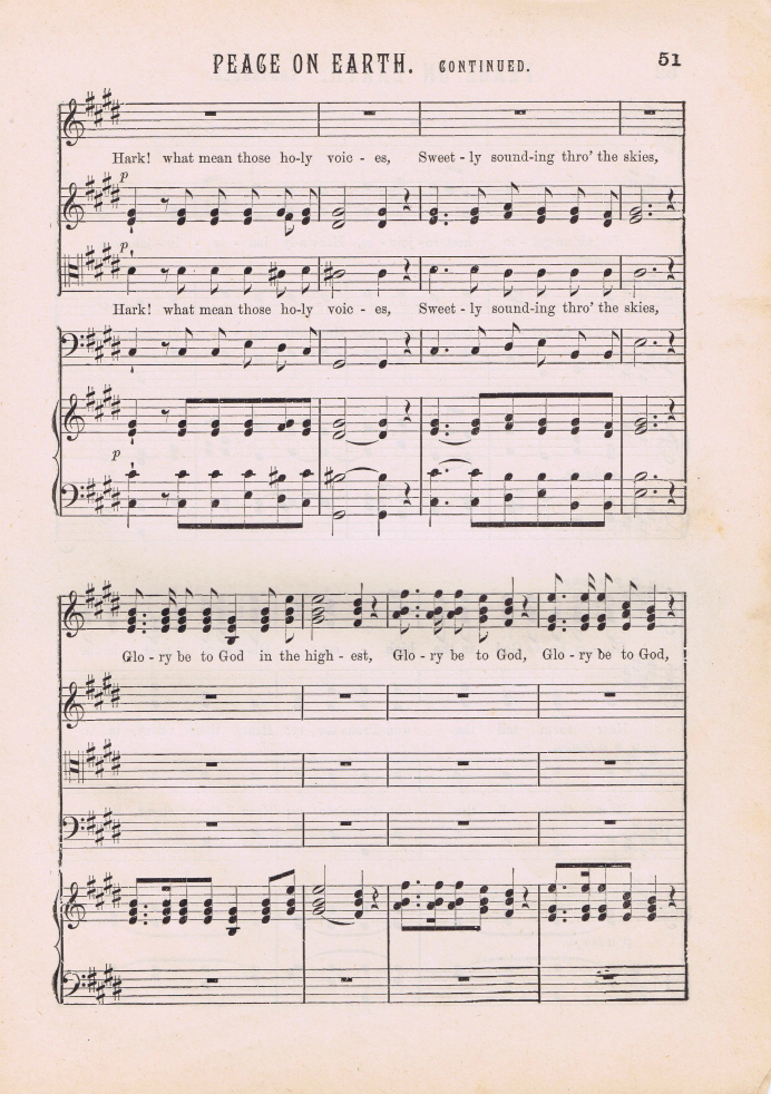 Antique Christmas Music Page