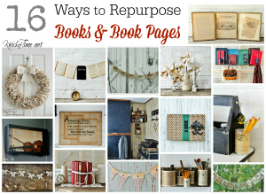 Repurposed Books Projects at Knick of Time