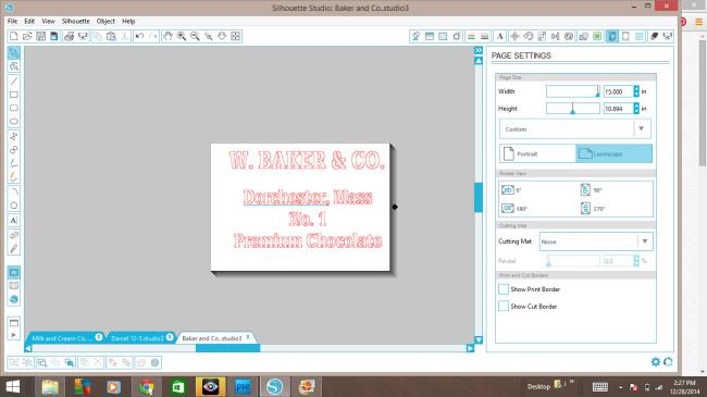 silouette cut file