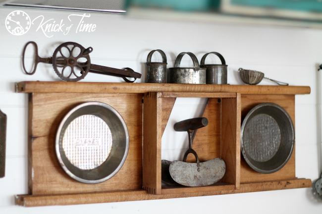 antique kitchen utensils