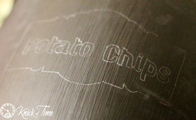 chalkboard lettering transfer