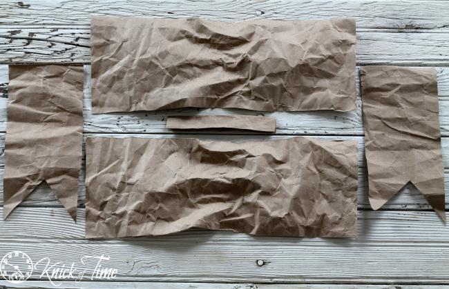 paper bows parts