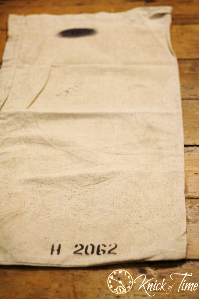 vintage seed bag