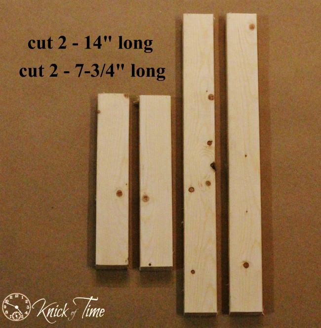 wooden frame parts