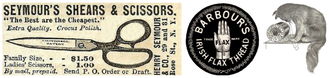 Antique Sewing Advertisements