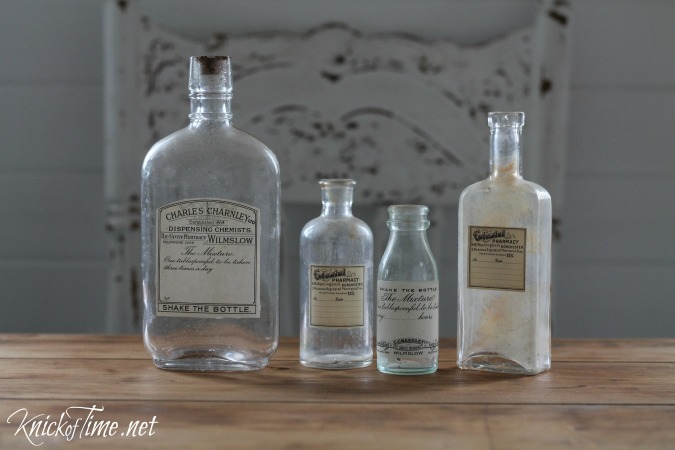 Lovely DIY Antique Style Apothecary Bottles with Free Printable Labels at  KG05