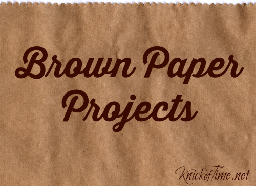 Brown Paper Craft Projects