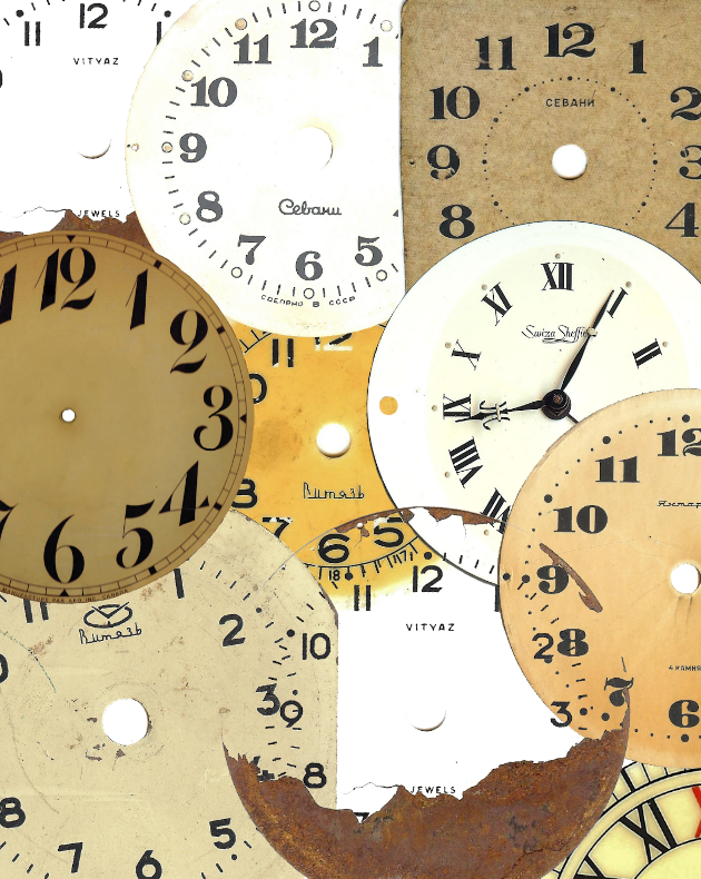 picture about Printable Clock Faces for Crafts titled Antique Clock Deal with Printable and Tin Can Craft Knick of Season