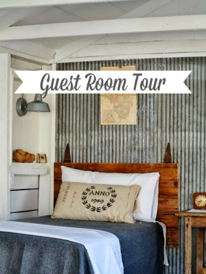 Guest Room Tour via KnickofTime.net