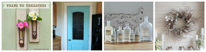 Repurposed Vintage Decor VIP Party Host Features