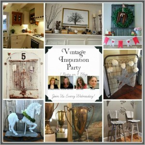 Vintage Inspiration Party #172 – Vintage Decor Galore!