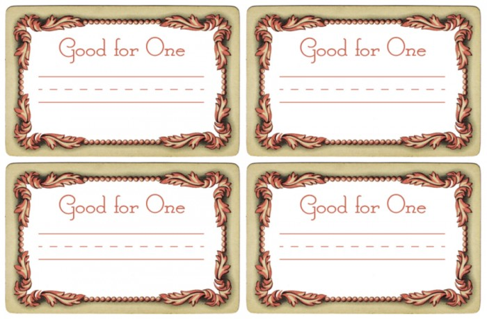 Valentines Day Coupon Book Printables from KnickofTime.net