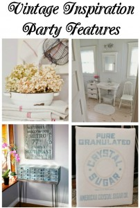 Vintage Inspiration Party #174 – Repurposed Vintage Decor