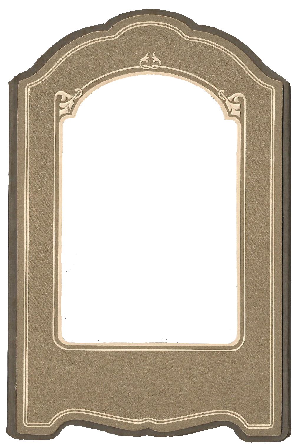 Vintage Photo Frame Mat