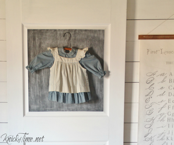 chalkboard door backdrop