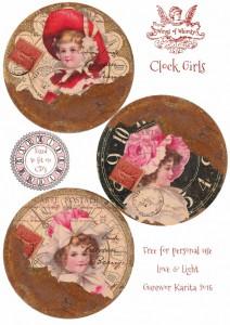 clock printables