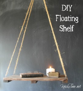 Pallet Wood Floating Shelf