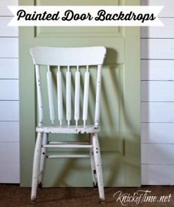 Wooden Door Backdrops