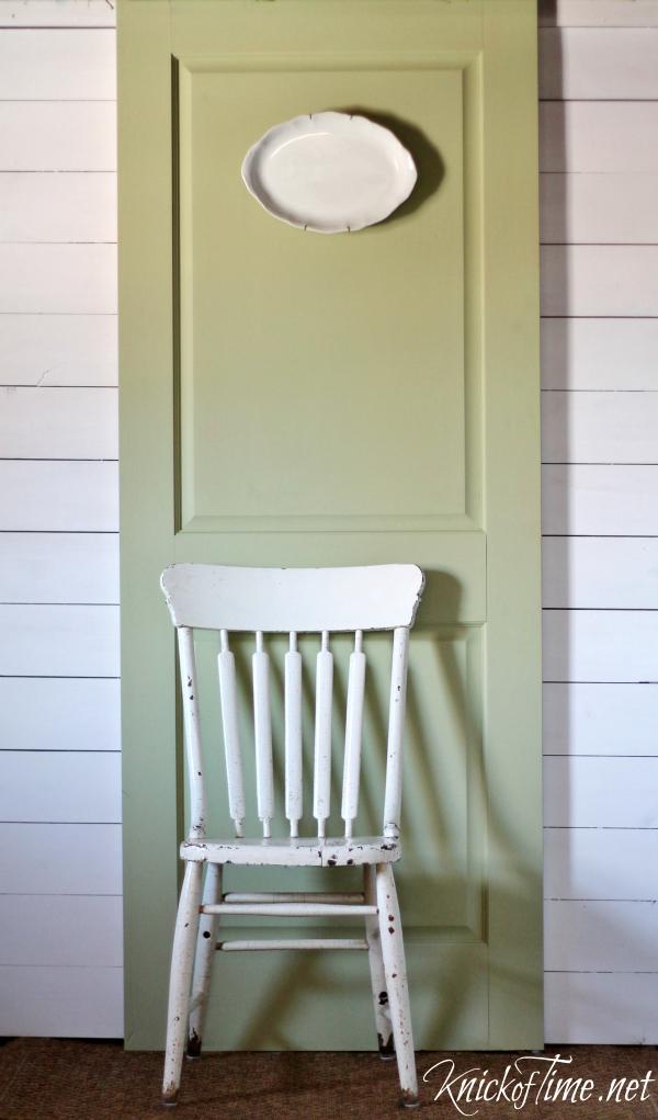 painted door backdrop
