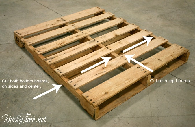 pallet rack cut image