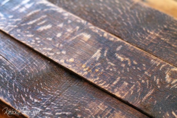 pallet wood floating shelf
