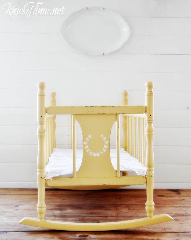 vintage cradle