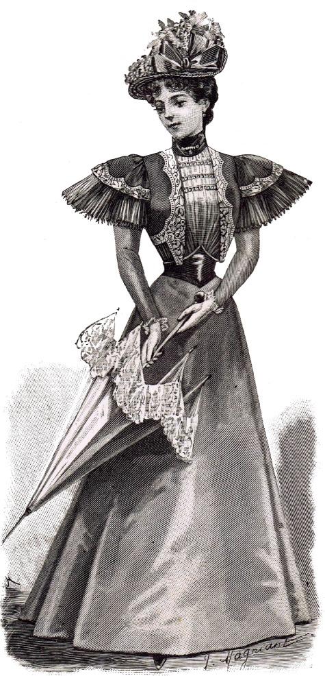 1800's fashions