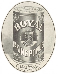 1900's Royal Baking Powder Advertisement